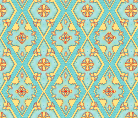 ©2011 Taking a Bite at Opulence fabric by glimmericks on Spoonflower - custom fabric