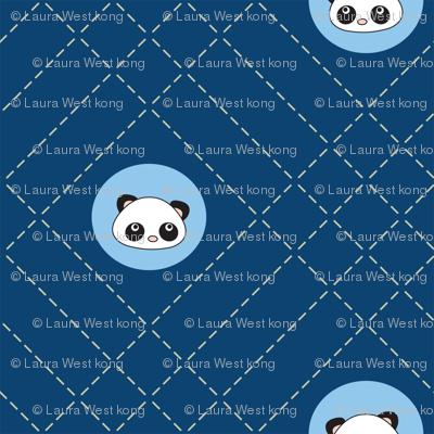 Pandamonium Sashiko Dots