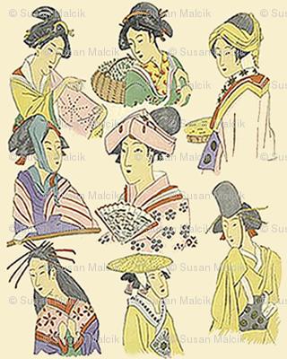 Tiny Japanese Ladies