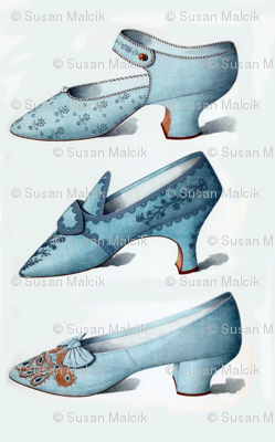 Small Blue Shoes