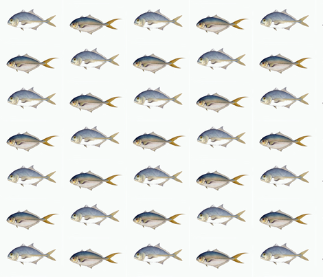 Two Fish Friends fabric by susaninparis on Spoonflower - custom fabric