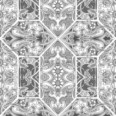 Revenge of the New Victorians fabric by edsel2084 on Spoonflower - custom fabric