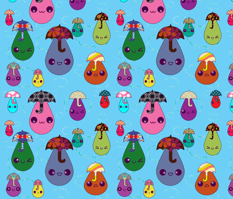 drip_drop fabric by snork on Spoonflower - custom fabric