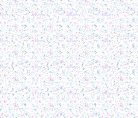 Rainflower fabric by pamtaylor2 on Spoonflower - custom fabric