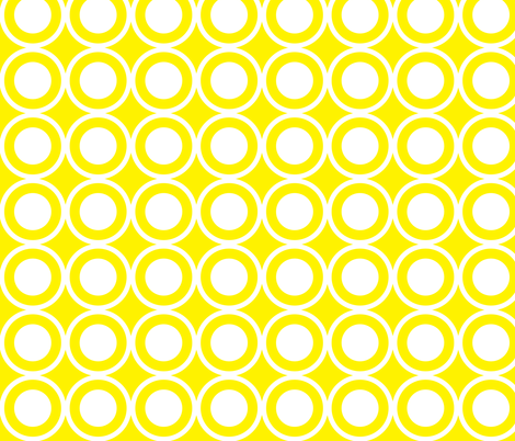 CircleLattice fabric by dolphinandcondor on Spoonflower - custom fabric