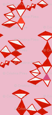 crystaline red pink