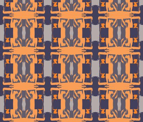 Sun King Waking fabric by susaninparis on Spoonflower - custom fabric