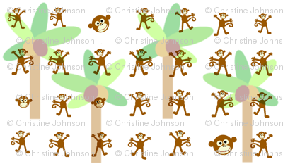 monkey palms