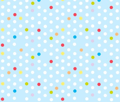 marble spot - baby blue fabric by flowerpress on Spoonflower - custom fabric