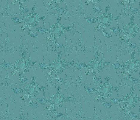 baby-sea-turtles-texture-on_texturewave fabric by mina on Spoonflower - custom fabric