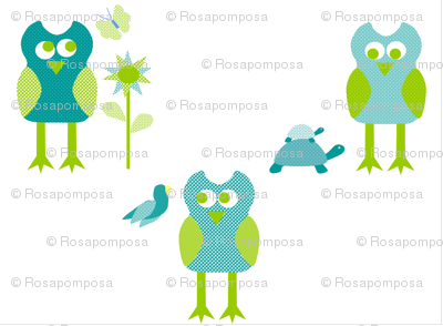 Blue Owl Rosapomposa