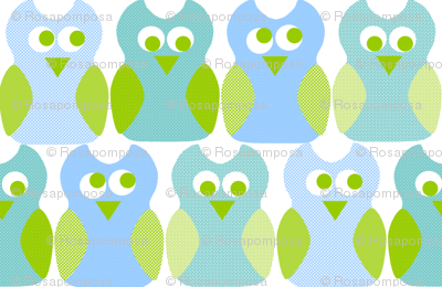 Blue Owl Rosa Pomposa