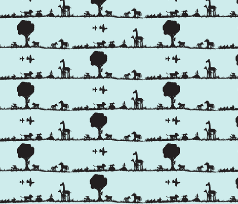 Day of the Dadda fabric by jellyfishearth on Spoonflower - custom fabric