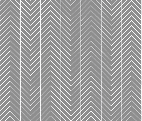 round the bend grey fabric by cristinapires on Spoonflower - custom fabric