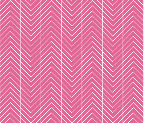 round the bend pink fabric by cristinapires on Spoonflower - custom fabric
