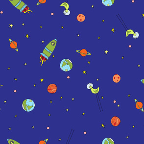 Knobby In Space