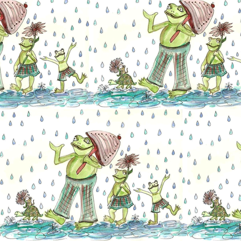 froggy_final-ed fabric by ndesigns on Spoonflower - custom fabric