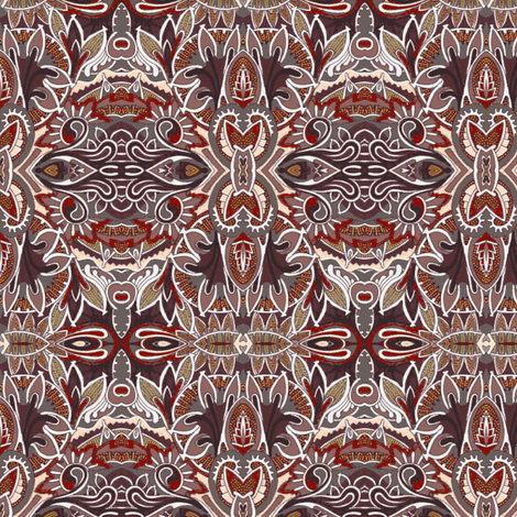 Waiting For the Chocolate Fairy fabric by edsel2084 on Spoonflower - custom fabric
