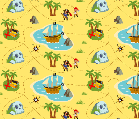 How to find treasure fabric by irrimiri on Spoonflower - custom fabric