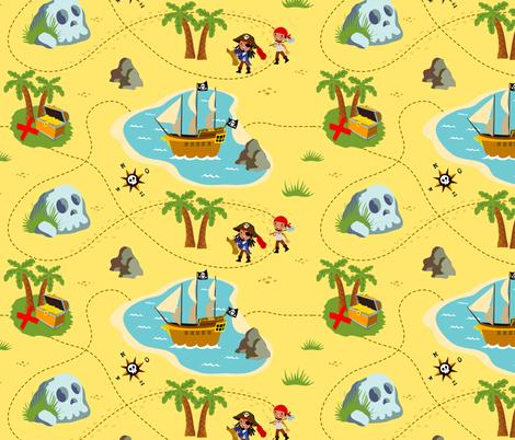 How to find treasure fabric by irrimiri on Spoonflower - custom fabric