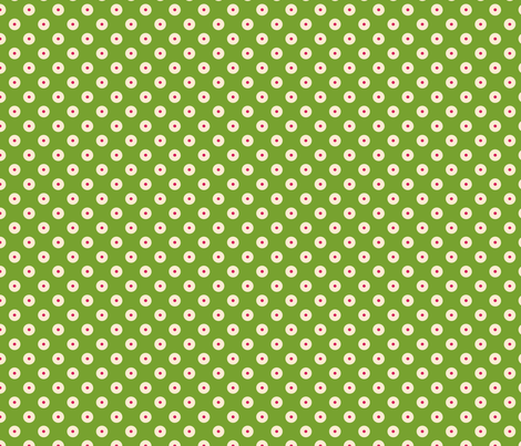 pois_fond_vert_2 fabric by nadja_petremand on Spoonflower - custom fabric