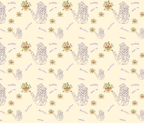 Life_map fabric by marygrace on Spoonflower - custom fabric