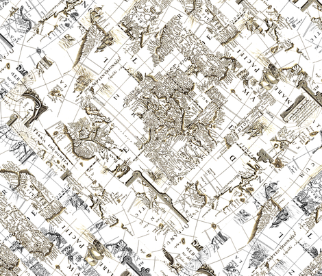 Old World fabric by illustratemoore on Spoonflower - custom fabric