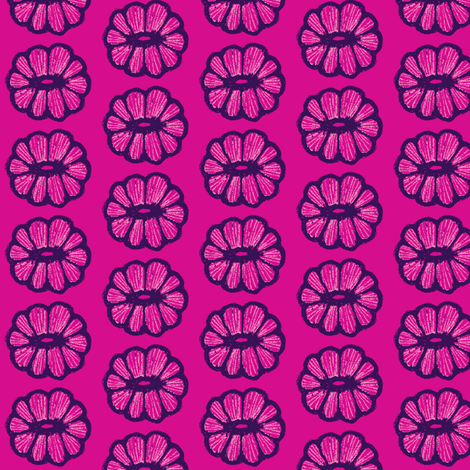Pink on pink fabric by tallulah11 on Spoonflower - custom fabric
