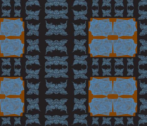 JamJax Blue Butter fabric by jamjax on Spoonflower - custom fabric