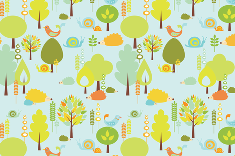 Forest Folk fabric by kayajoy on Spoonflower - custom fabric