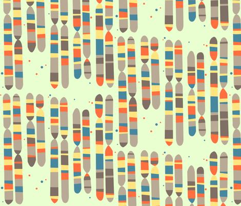 gene map fabric by aperiodic on Spoonflower - custom fabric