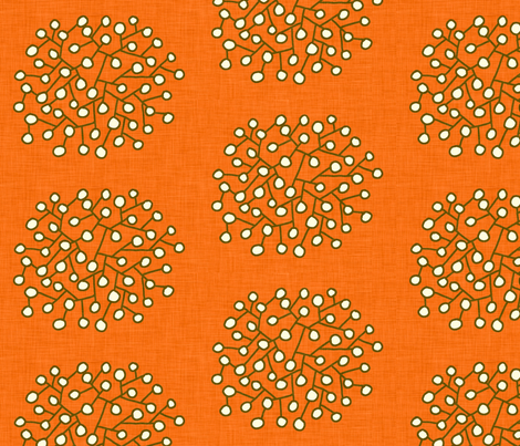 southwest_shrubs fabric by holli_zollinger on Spoonflower - custom fabric