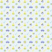 Baby Boy fabric