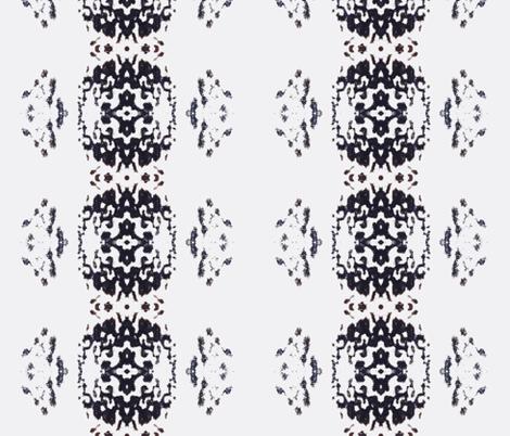 Shoop White Vertical fabric by funkaestudio on Spoonflower - custom fabric