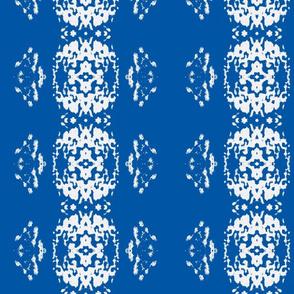 White Shoop Bright Blue Vertical