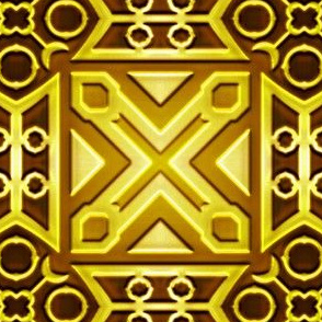 Euclid Antique Brass