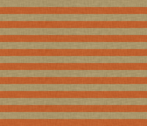 linen_orange_stripe fabric by holli_zollinger on Spoonflower - custom fabric
