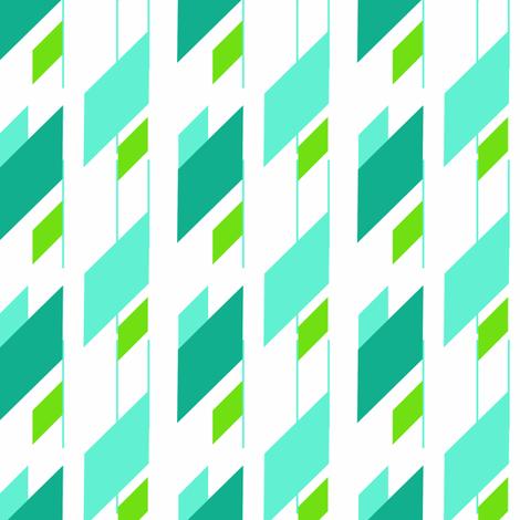 skyscraper fabric by fleamarkettrixie on Spoonflower - custom fabric