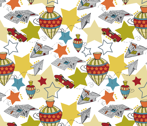 On The Move fabric by meredithok on Spoonflower - custom fabric
