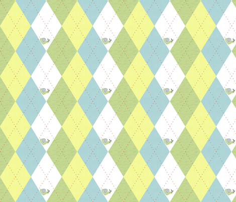 country gathering argyle fabric by christiem on Spoonflower - custom fabric