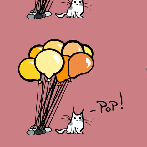 Pop! (orange) fabric by pond_ripple on Spoonflower - custom fabric