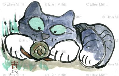 Snail & Kitten