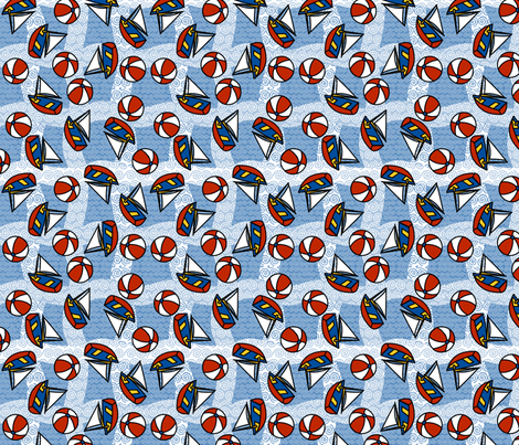 ©2011 sailingcurves fabric by glimmericks on Spoonflower - custom fabric