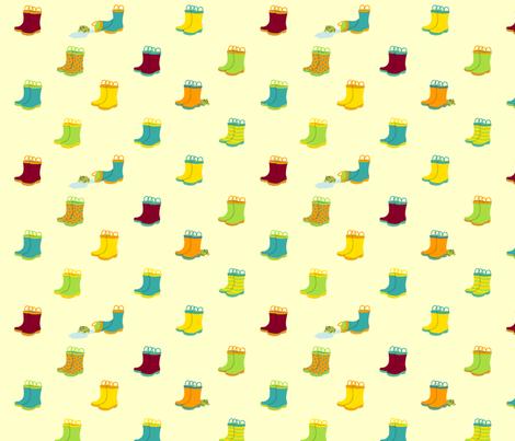 Boots fabric by freshlypieced on Spoonflower - custom fabric