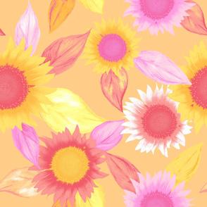 sunflower, gold