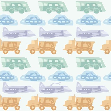 Transport fabric by theboerwar on Spoonflower - custom fabric