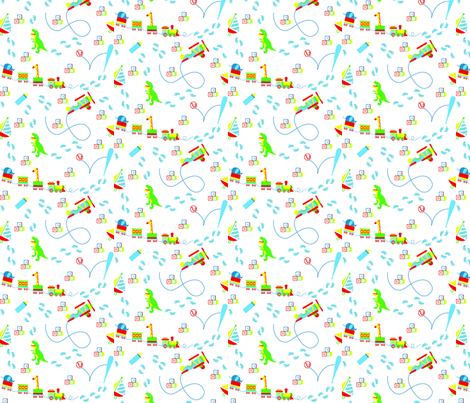 Pitter Patter fabric by silver_lining on Spoonflower - custom fabric