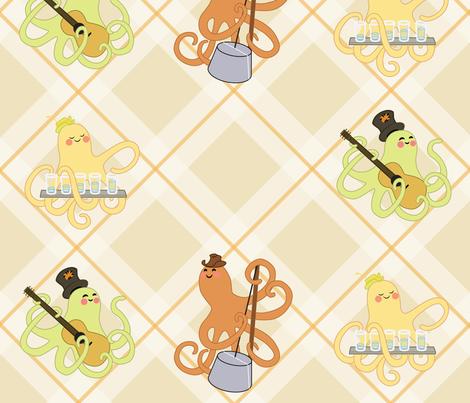 Octopus Jamboree fabric by jessica_jill on Spoonflower - custom fabric