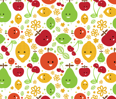 Naturally Sweet fabric by m0dm0m on Spoonflower - custom fabric