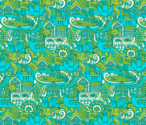 lucky_day fabric by ruusulampi on Spoonflower - custom fabric